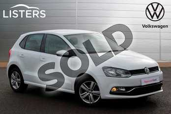 Volkswagen Polo 1.2 TSI Match Edition 5dr in Pure White at Listers Volkswagen Nuneaton