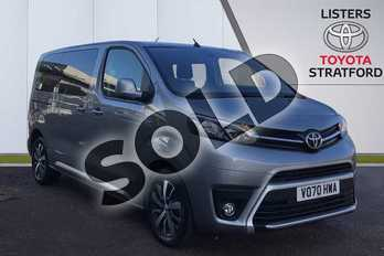 Toyota PROACE VERSO 2.0D 180 Family Medium 5dr Auto in Silver at Listers Toyota Stratford-upon-Avon
