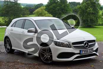 Mercedes-Benz A Class A180d AMG Line Executive 5dr in Cirrus White at Mercedes-Benz of Grimsby