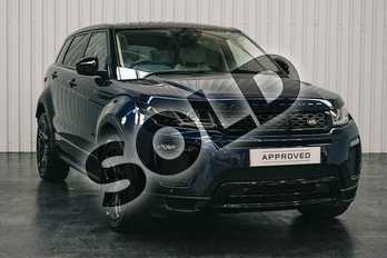 Range Rover Evoque 2.0 TD4 HSE Dynamic 5dr Auto in Loire Blue at Listers Land Rover Solihull