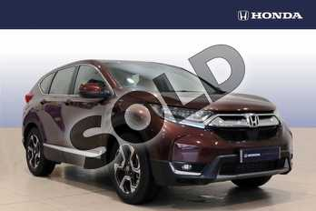 Honda CR-V 1.5 VTEC Turbo SE 5dr 2WD in Agate Brown at Listers Honda Northampton