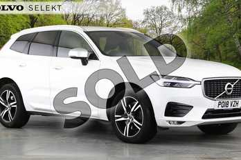 Volvo XC60 2.0 D4 R DESIGN 5dr AWD Geartronic in Ice White at Listers Volvo Worcester
