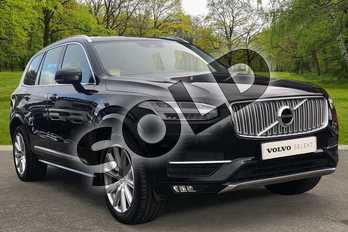 Volvo XC90 2.0 T5 (250) Inscription 5dr AWD Gtron in Onyx Black at Listers Volvo Worcester