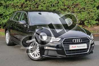 Audi A3 1.6 TDI SE Technik 5dr in Brilliant Black at Worcester Audi