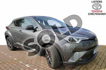 Toyota C-HR 1.8 Hybrid Excel 5dr CVT in Grey at Listers Toyota Cheltenham