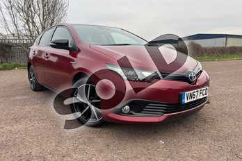 Toyota Auris 1.8 Hybrid GB25 5dr CVT in Black at Listers Toyota Cheltenham