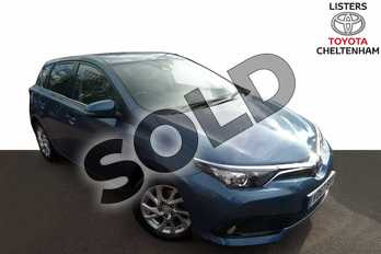 Toyota Auris 1.8 Hybrid Icon TSS 5dr CVT in Denim Blue at Listers Toyota Cheltenham