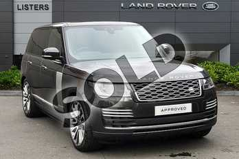 Range Rover 3.0 SDV6 (275hp) Autobiography in Carpathian Grey at Listers Land Rover Droitwich