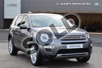 Land Rover Discovery Sport 2.0 TD4 (180hp) HSE Luxury in Corris Grey at Listers Land Rover Droitwich