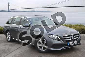 Mercedes-Benz E Class E220d SE 5dr 9G-Tronic in Selenite Grey metallic at Mercedes-Benz of Hull