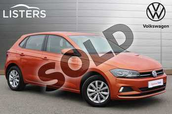 Volkswagen Polo 1.0 TSI 95 SE 5dr in Energetic Orange at Listers Volkswagen Nuneaton