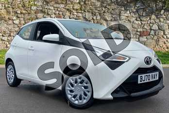 Toyota AYGO 1.0 VVT-i X-Play TSS 5dr in Pure White at Listers Toyota Coventry