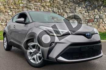 Toyota C-HR 1.8 Hybrid Icon 5dr CVT in Metal Stream at Listers Toyota Coventry