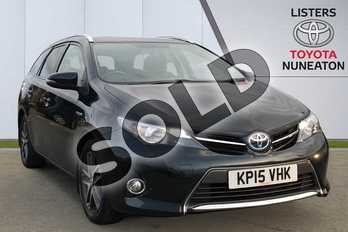 Toyota Auris 1.8 VVTi Hybrid Icon+ 5dr CVT Auto in Grey at Listers Toyota Nuneaton