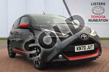 Toyota AYGO 1.0 VVT-i X-Trend TSS 5dr x-shift in Grey at Listers Toyota Nuneaton