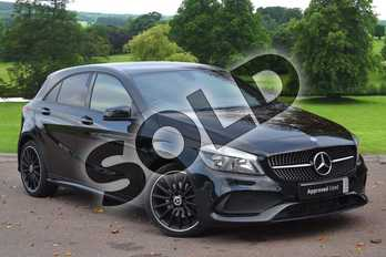 Mercedes-Benz A Class A180d AMG Line 5dr Auto in Cosmos Black at Mercedes-Benz of Grimsby