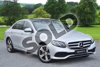 Mercedes-Benz E Class E220d SE Premium 4dr 9G-Tronic in Iridium Silver Metallic at Mercedes-Benz of Grimsby