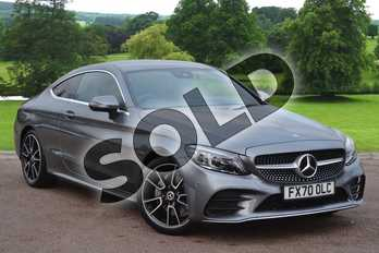 Mercedes-Benz C Class C220d AMG Line Premium 2dr 9G-Tronic in selenite grey metallic at Mercedes-Benz of Grimsby