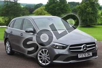 Mercedes-Benz B Class B200d Sport Executive 5dr Auto in Mountain Grey Metallic at Mercedes-Benz of Grimsby
