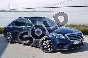 Mercedes-Benz S Class S350d L Grand Edition Executive 4dr 9G-Tronic in Cavansite Blue metallic at Mercedes-Benz of Hull
