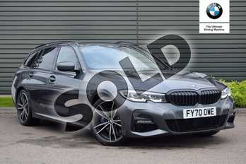 BMW 3 Series 320d M Sport 5dr Step Auto in Mineral Grey at Listers Boston (BMW)