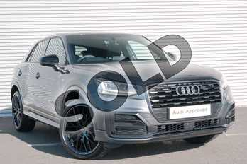 Audi Q2 30 TFSI Black Edition 5dr in Daytona Grey Pearlescent at Coventry Audi