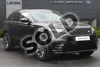 Range Rover Velar D180 R-Dynamic S in Santorini Black at Listers Land Rover Droitwich