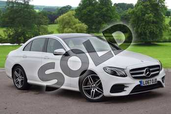 Mercedes-Benz E Class E220d AMG Line Premium 4dr 9G-Tronic in Polar White at Mercedes-Benz of Grimsby