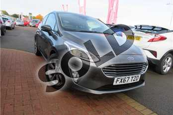 Ford Fiesta 1.0 EcoBoost Zetec 3dr in Exclusive paint - Magnetic at Listers Toyota Grantham