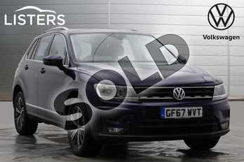 Volkswagen Tiguan 2.0 TDI 150 4Motion SE Nav 5dr DSG in Atlantic Blue at Listers Volkswagen Worcester