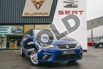 SEAT Ibiza 1.0 TSI 95 SE Design 5dr in Blue at Listers SEAT Coventry