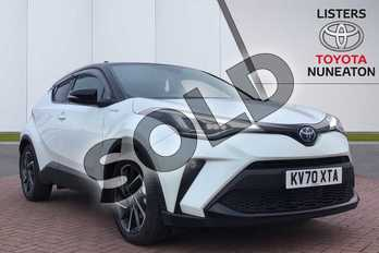 Toyota C-HR 2.0 Hybrid Dynamic 5dr CVT in White at Listers Toyota Nuneaton
