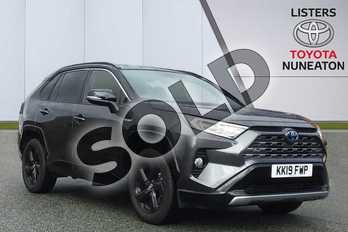 Toyota RAV4 2.5 VVT-i Hybrid Dynamic 5dr CVT in Grey at Listers Toyota Nuneaton