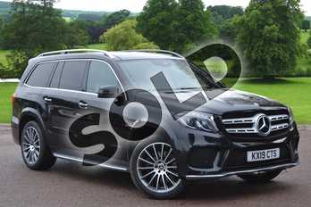 Mercedes-Benz GLS GLS 350d 4Matic Grand Edition 5dr 9G-Tronic in obsidian black metallic at Mercedes-Benz of Grimsby