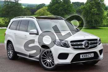 Mercedes-Benz GLS GLS 350d 4Matic Grand Edition 5dr 9G-Tronic in designo Diamond white metallic at Mercedes-Benz of Grimsby
