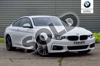 BMW 4 Series 440i M Sport 2dr Auto (Professional Media) in Alpine White at Listers Boston (BMW)