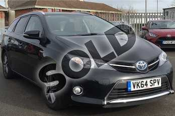 Toyota Auris 1.8 VVTi Hybrid Icon+ 5dr CVT Auto in Eclipse Black at Listers Toyota Lincoln