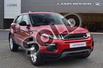 Range Rover Evoque 2.0 TD4 (180hp) SE Tech in Firenze Red at Listers Land Rover Hereford
