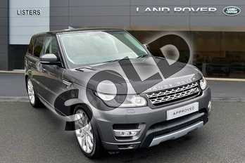 Range Rover Sport 3.0 SDV6 (306) HSE 5dr Auto in Corris Grey at Listers Land Rover Hereford