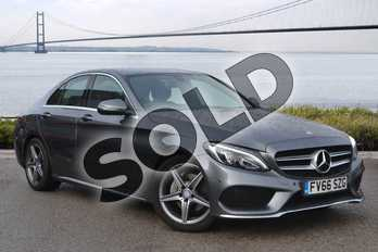 Mercedes-Benz C Class C220d AMG Line 4dr Auto in Metallic - Selenite Grey at Lexus Lincoln
