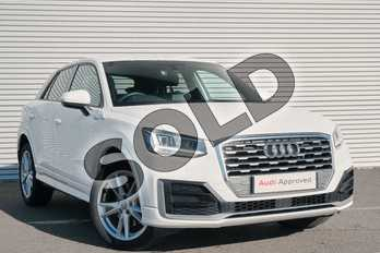 Audi Q2 1.4 TFSI S Line 5dr in Ibis White at Coventry Audi