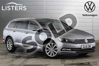 Volkswagen Passat 1.6 TDI SE Business 5dr DSG in Pyrite Silver at Listers Volkswagen Nuneaton