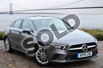 Mercedes-Benz A Class A200 Sport 5dr Auto in Mountain Grey Metallic at Mercedes-Benz of Grimsby