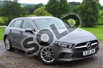 Mercedes-Benz A Class A180d Sport 5dr Auto in Mountain Grey Metallic at Mercedes-Benz of Grimsby