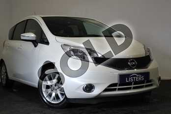 Nissan Note 1.5 dCi Acenta Premium 5dr in Solid - Arctic white at Listers U Stratford-upon-Avon