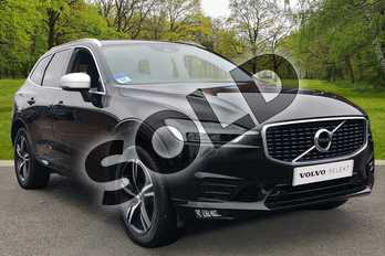 Volvo XC60 2.0 D4 R DESIGN 5dr AWD Geartronic in Onyx Black at Listers Volvo Worcester