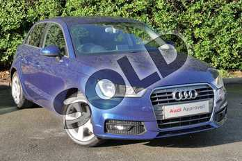 Audi A1 1.4 TFSI Sport 5dr in Scuba Blue Metallic at Worcester Audi