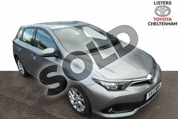 Toyota Auris 1.2T Icon TSS 5dr in Aspen Grey at Listers Toyota Cheltenham
