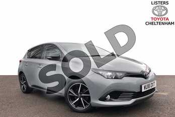 Toyota Auris 1.2T Design TSS 5dr (Nav) in Manhattan Grey Bi-Tone at Listers Toyota Cheltenham