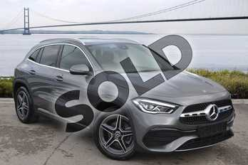 Mercedes-Benz GLA GLA 220d 4Matic AMG Line 5dr Auto in Mountain Grey Metallic at Mercedes-Benz of Hull
